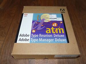 Adobe TypeManager Deluxe Vollversion inkl. Type Reunion für Mac