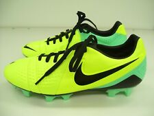 NIKE MENS SOCCER FOOTBALL BOOTS CTR360 TREQUARTISTA III GREEN GLOW US 7.5