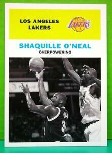 Shaquille O'Neal insert card Vintage '61 1998-99 Fleer #143