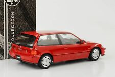 Honda Civic EF9 SiR Vtec 1990 rot 1:18 Triple9 Diecast 1800105