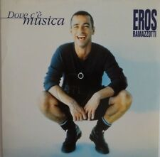 EROS RAMAZZOTTI : DOVE C'E MUSICA + LA AURORA  [ CD SINGLE BMG #74321 46636 2 ]