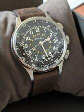 Bulova A-15 Pilot (96A245) Watch - 42mm, 21-Jewel/Automatic, Reissue, Mint Cond