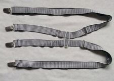 Braces Suspenders Mens Vintage CLIP ON 1970s SKINHEAD SKA SKINNY