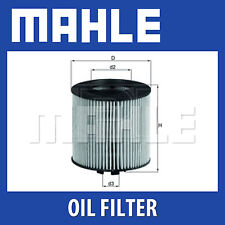 Mahle Oil Filter OX341D - Fits Audi, Seat, Skoda, VW - Genuine Part