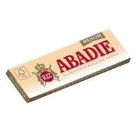 ABADIE 500 Hojas Papel de Liar Fumar Ultrafinos 77 x 44mm Estándar 1,1/4 Medium