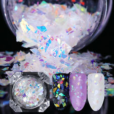 Nail Flakes Candy Glass Paper Nail Glitter Sequins Paillette Decor