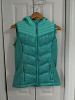 Girl's Free Country Down Puffer Vest Jacket Size Large 14/16 Green