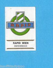 FOOTBALL CLUBS-PANINI 1975-Figurina n.219- RAPID VIENNA AUSTRIA - SCUDETTO -Rec