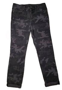 Youth Boy Ralph Lauren Polo Black Camo Pants Size 14