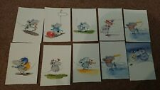 kids postcards pack 10x Max the mouse postcard set post card cartoon childrens