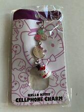 New Hello Kitty Halloween Ghost Cellphone Charm Purple Sanrio