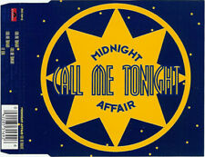 MIDNIGHT AFFAIR   Call Me Tonight   CD Maxi-Single  1994  Germany  CERRONE cover