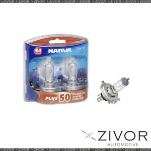 New NARVA H4 12V 60/55W P43T PLUS Globe-48872BL2 For Hyundai-ix35 *By Zivor*
