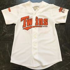 Hooters Casino Hotel Las Vegas Twins Jersey baseball Orange White S/M #577