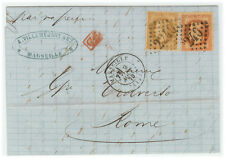 France cover 1870 Marseille to Roma (IT)