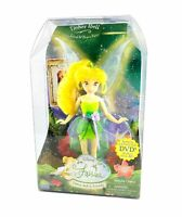 Disney Fairies Tinker Bell & Friends TINKER BELL Brave Loyal Fairy NEW w/ DVD