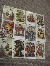 Hummel Post Cards Hummel pictures Vintage style Hummel prints