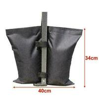 1 STÜCK Schwarz Pavillon Sandsäcke Gewichte für Zelt Festz F2O0 Markise Pav K0D1
