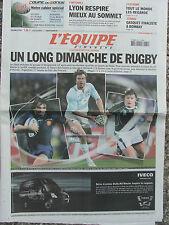 L'Equipe du 30/9/2007 - Foot : Lyon - Cyclisme - Gasquet -