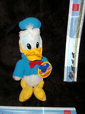 Disney Donald Duck Plush Soft Toy Vintage Disneyland Resorts Stuffed Animal