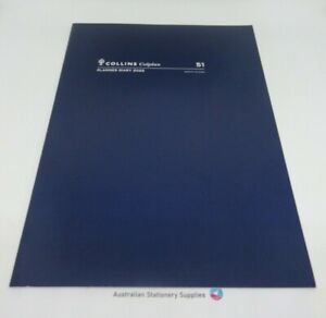 COLLINS COLPLAN 2022 Year A4 Planner Diary 1 Month to View  Blue Cover