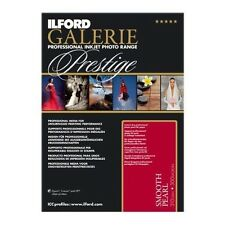 ILFORD Galerie Prestige Smooth Pearl Inkjet Photo Paper A2 25 Sheets