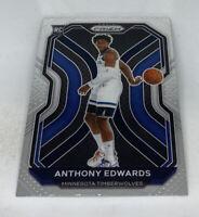 Anthony Edwards 2020-21 Panini Prizm Rookie RC Base #258 - Timberwolves ROY