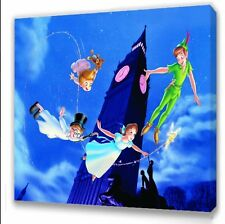 Classic Peter Pan Kids bedroom canvas picture