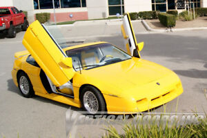 Pontiac Fiero 84-88 Lambo Style Vertical Doors VDI Bolt On Hinge Kit