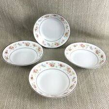 NORITAKE Forever 2690 Small Bowl Dish Dinner Service Set China x 4
