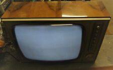 VINTAGE 1964 HUNGARY TV ORION DELTA AT550-0 * TUBE TV * 220V * 110V
