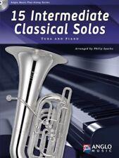 Intermédiaire de 15 Classique Solos C tuba BC, BB Tuba TC ou Eb Tuba TC Tuba BC Shee