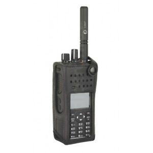 "Genuine Motorola Nylon 3"" Fixed Belt Loop Carry Case DP4601e DP4800e DP4801e"