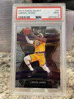 2019 Panini Select LeBron James #47 PSA 9 Mint Los Angeles Lakers
