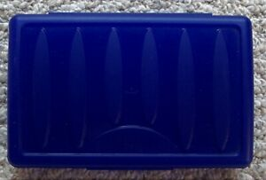 SPACEMAKER Pencil Box School Supply Case Dark Blue