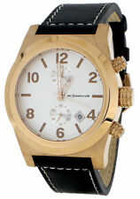Gold Plated Case Analogue Unisex Wristwatches