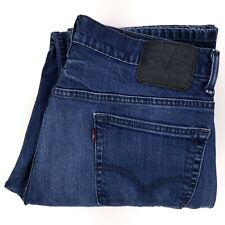 Levis 569 Jeans 34x34 Blue Loose Straight Fit Jean Denim Denims Cotton Blend Man