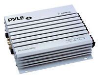 Pyle PLMRA400 4 Channel 400 Watts Waterproof Marine Amplifier