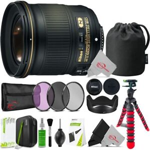 Nikon AF-S NIKKOR 24mm f/1.8G ED Fixed Lens with Professional Accessory Kit
