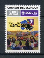 Ecuador 2017 MNH JamCam Ecuador 1v Set Scouts Scouting Stamps