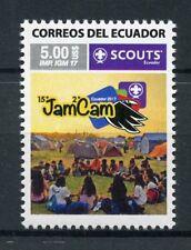 More details for ecuador 2017 mnh jamcam ecuador 1v set scouts scouting stamps