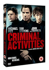 Criminal Activities DVD (2016) John Travolta, Haley (DIR) cert 15 ***NEW***
