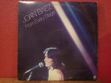 JOAN BAEZ from every stage 2 LP  SP 3704 Vinyl 1976 Record