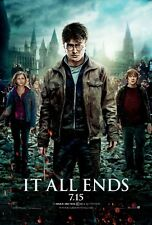 Harry Potter movie poster print (B) : 11 x 17 inches - Daniel Radcliffe poster