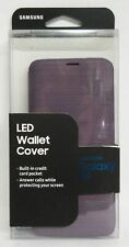 Samsung LED Wallet Cover for Galaxy S9 - Violet