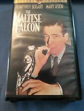 New listing Vhs The Maltese Falcon Humphrey Bogart Mary Astor Black/White