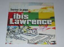 Ibis Lawrence - Tourner la page - cd promo 2 titres 2001