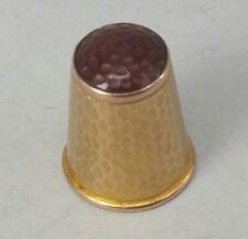 Ricoperti di oro solido Orologio Tasca Doppia Albert CATENA STRETTA cordolo FOB-FA43