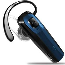 Masentek M26 Bluetooth Headset V4.1 Cordless Handsfree Blue Earpiece w/ N. New
