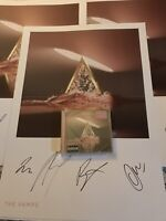 Signed The Vamps - Cherry Blossom Cd + Signed Lithograph (Limited & Numbered)